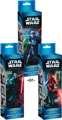 Star Wars Miniatures: Champions of the Force Booster Pack